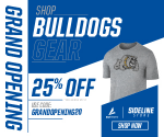 Sideline store open for everyone!