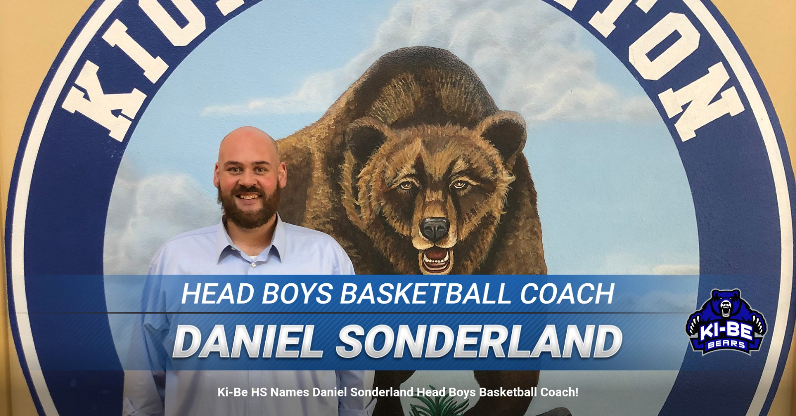 Daniel Sonderland Named Head Boys Basketball Coach