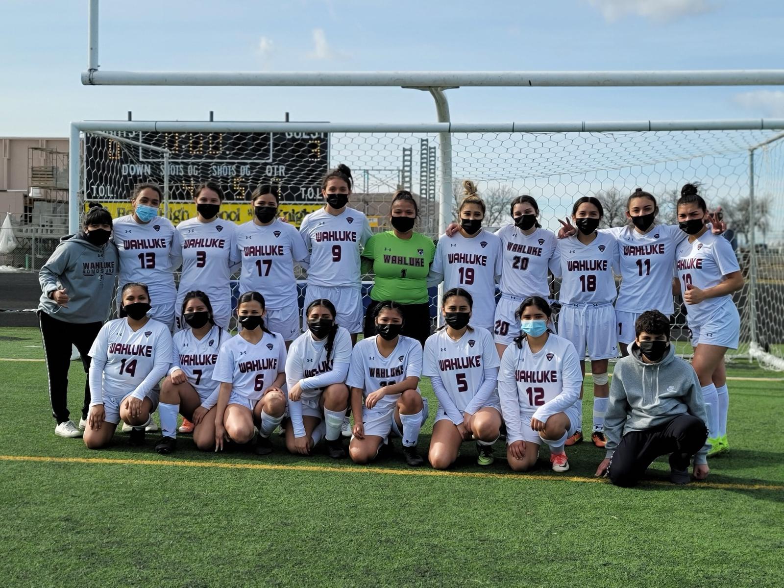 Wahluke Varsity Girls Soccer vs Warden Varsity Girls Soccer Matchup