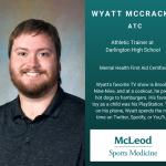 Athletic Trainer Month: Wyatt McCrackin