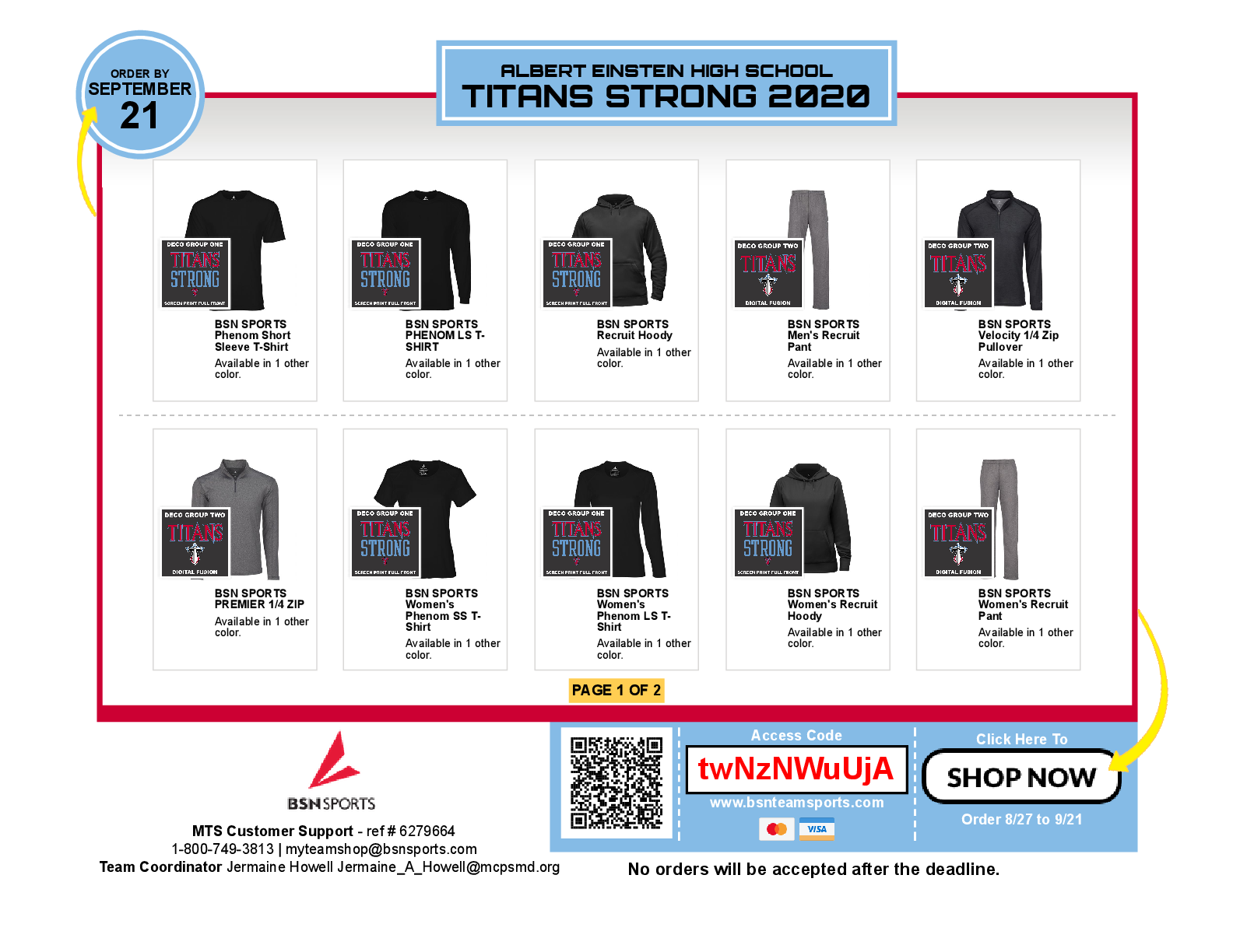 TITAN STRONG APPAREL ONLINE STORE