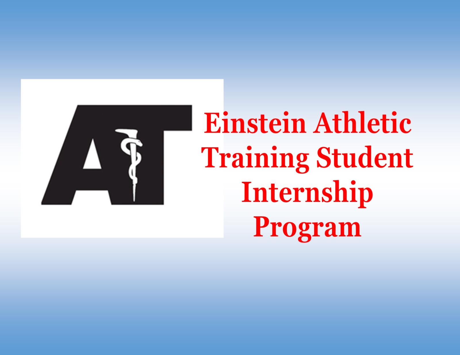 Einstein Athletic Training Student Internship Program