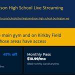 B-E HS has Live Streaming Access