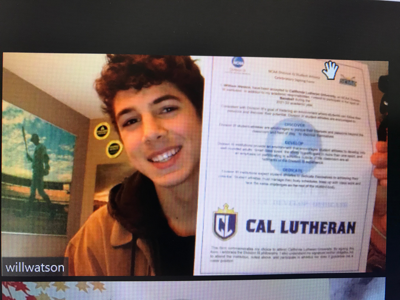B-E HS Will Watson signs with Cal Lutheran