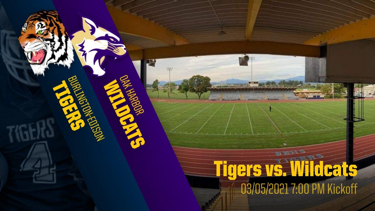 Friday Night Lights…Oak Harbor Wildcats return to Kirkby Field!!