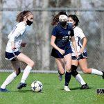 March 13, 2021 JV Girls Soccer Burlington at Squalicum - David Willoughby
