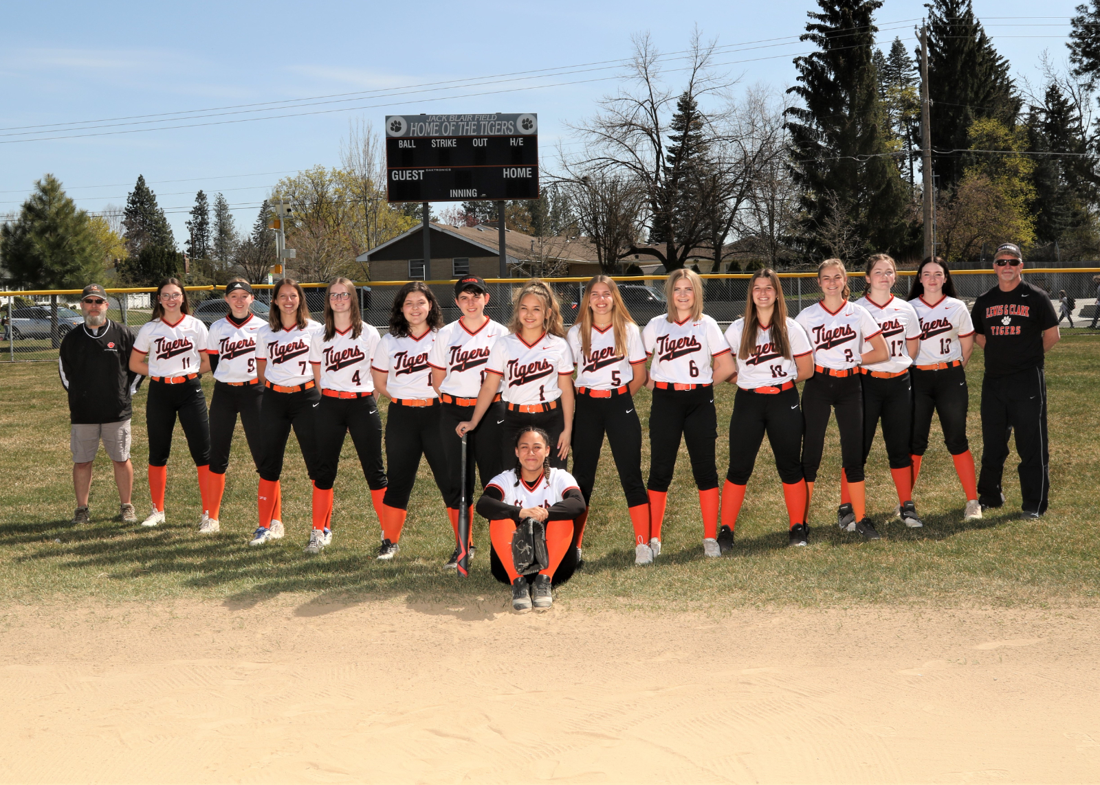 Spring Sports Team Photos 2020-21