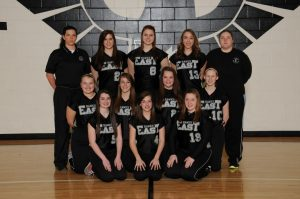Freshmen Softball Team Picture