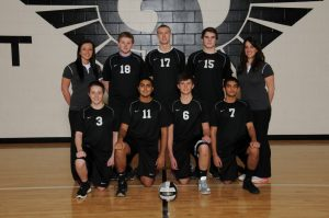 J.V. Boy's Volleyball Team Picture