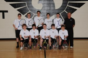 J.V. Boy's Tennis Team Picture