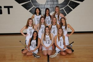 Varsity Girl's Lacrosse Team Picture