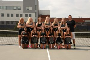 2016 Girls Tennis Teams