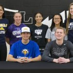 College Signers Recognized at East!