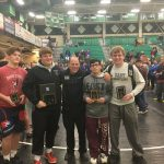 Spaulding Earns Tourney Title, Wrestling Team 8th at Samples Classic