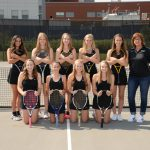 Girls Tennis Falls ot Miamisburg