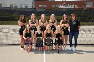 2017 Girls Tennis Teams