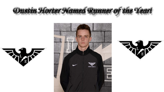 Dustin Horter Named Gatorade Ohio Cross Country Runner of the Year
