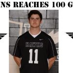 Nick Edkins adds his name to Boys Lacrosse record books!