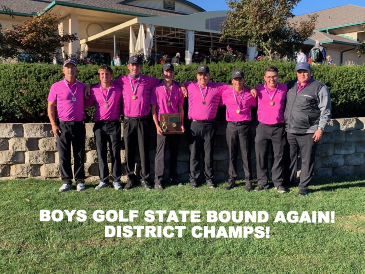 Boys Golf Returns to State for 3rd Consecutive Time!!!