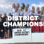 Girls Cross Country Wins District Title!!