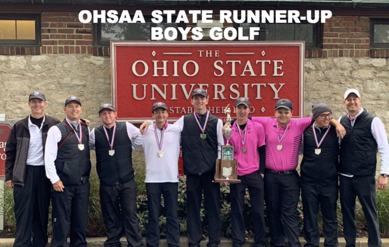 Boys Golf State Runner-Up!