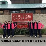 Girls Golf 5th at State!