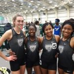 Track Athletes Race to Indoor Success