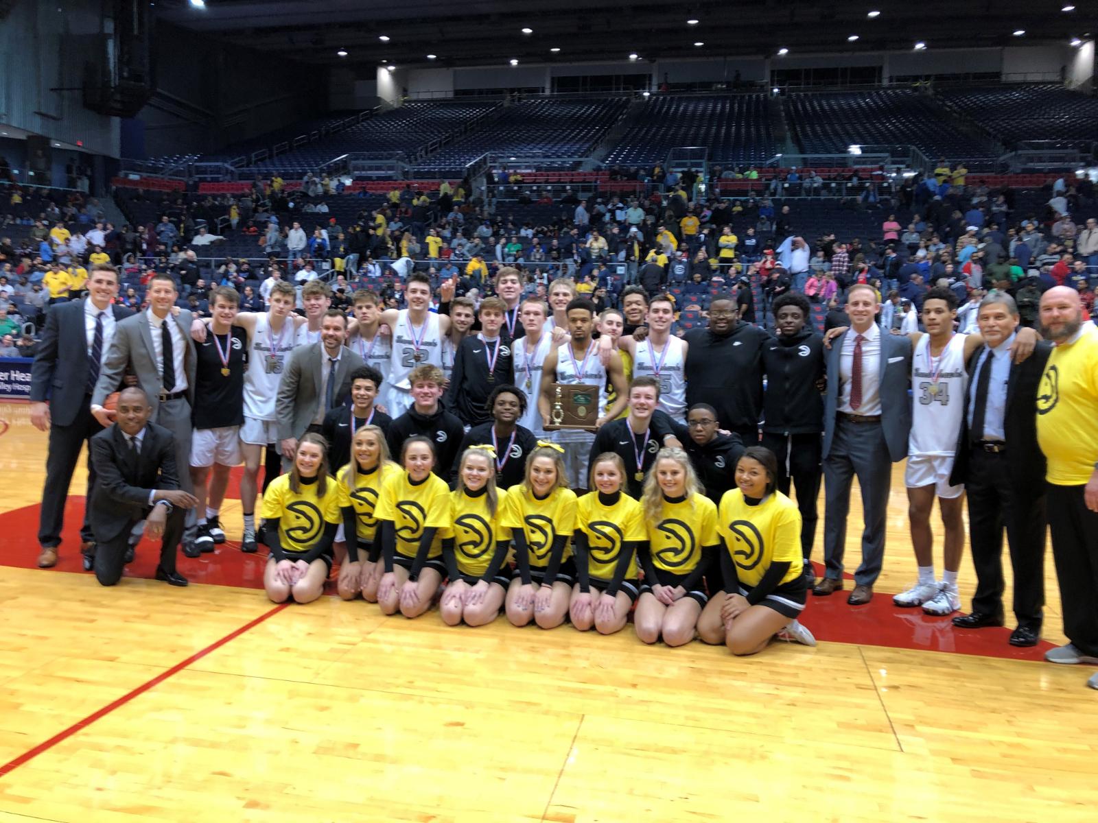 Boys Basketball District Champions Again!!