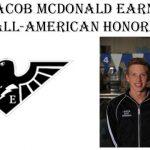 JACOB MCDONALD EARNS ALL-AMERICAN HONORS