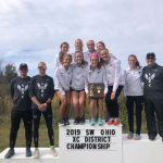 LAKOTA EAST GIRLS CROSS COUNTRY 2019 SOUTHWEST DISTRICT CHAMPIONS!