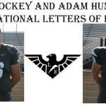 FOOTBALLERS EVAN YOCKEY AND ADAM HUNDEMER TO NEXT LEVEL!