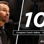 COACH ADKINS SURGES PAST 100 WIN PLATEAU!