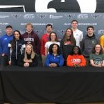 East Celebrates Our College Athlete Winter Signings