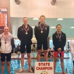 JACOB MCDONALD WINS TWO MORE STATE SWIMMING TITLES!