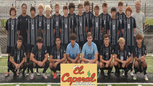 EL CAPORAL Team of the Week – Boys Soccer