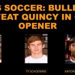 Bulldogs Defeat Quincy 2-1