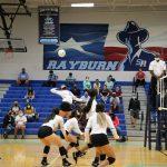 Volleyball against Dobie High School