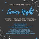 Senior Night!