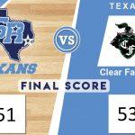 Runnin' Texans Drop a Close One 51-53