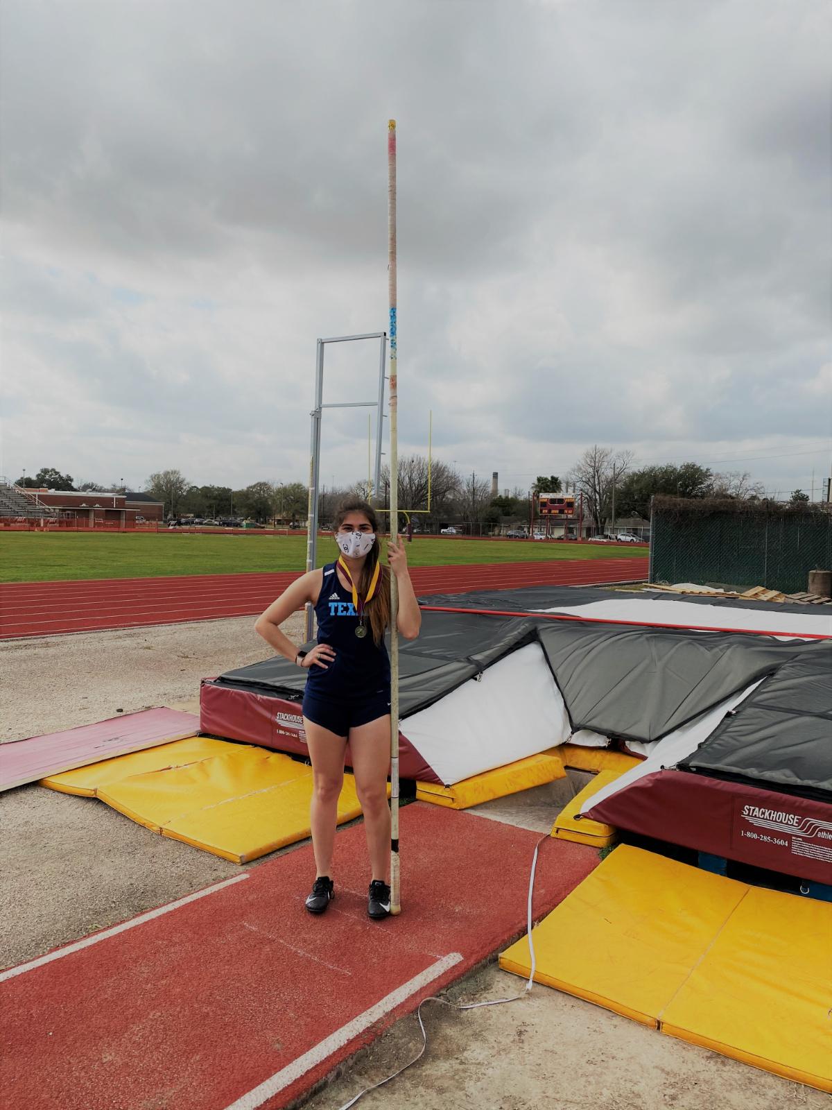 Lady Texans JV Track