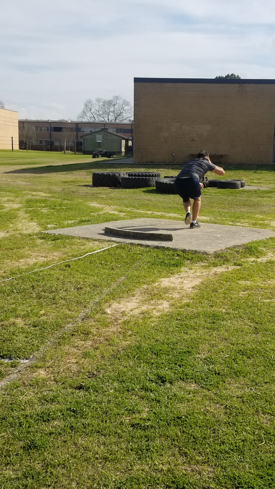 Shot Put – Track and Field