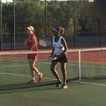 South Pointe High School Girls Varsity Tennis beat Westwood High School 6-0