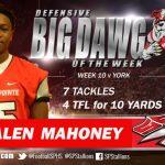 Big Dawg of the Week v. York #15 Jalen Mahoney