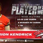 Player of the Week v. York #1 Derion Kendrick