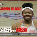 Player of the Week Girls BB #3 Jamia Blake