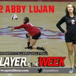 Abby Lujan Player of the Week