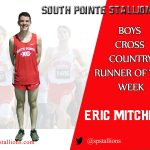 Eric Mitchell Runner of the Week