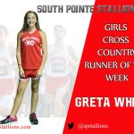 Greta White Girls Cross Country Runner of the Week