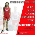 Madi Smith Girls Cross Country Runner of the Week