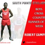 Robert Campbell Boys Cross Country Runner of the Week